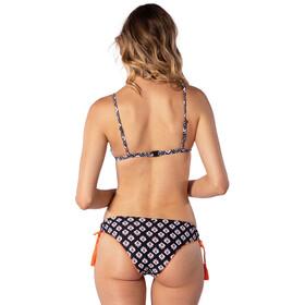 Rip Curl Odesha Geo Fixed Tri Bikini Top Kobiety, czarny